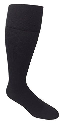 JOBST forMen Ambition, Knee High w/ SoftFit Technology, 20-30 mmHg, Gray, SZ 3/Long (Jobst Microfiber Knee High Socks)