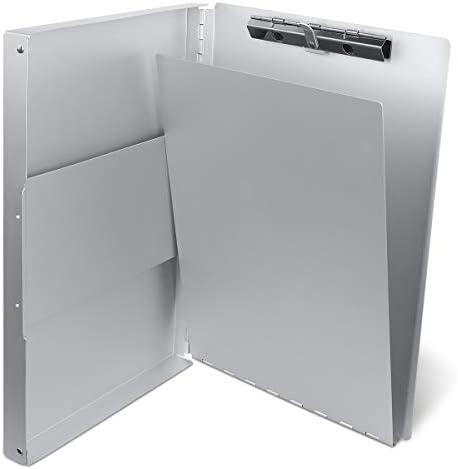 Aluminum Clipboard Portfolio Professionals Stationer