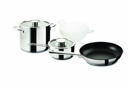 Mepra Gourmet 4-Piece Everyday Cookware Set