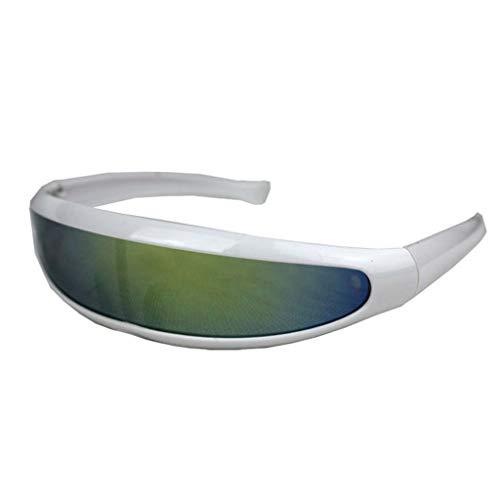 Landscap Women Man Outdoor Fishtail Uni-Lens Sunglasses Riding Cycling Glasses Eyewear Classic Eye