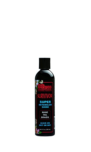 Grooming Free (EQyss Survivor Equine Detangler 8 oz - Smooths Out Tangles, Mats, and Knots)