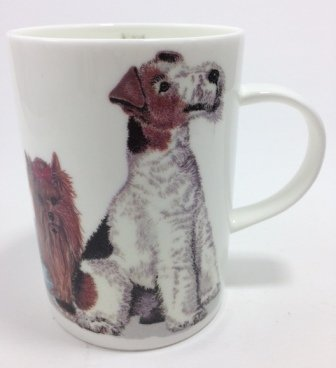Roy Kirkham Fine Bone China Lyric Mug Dogs Galore