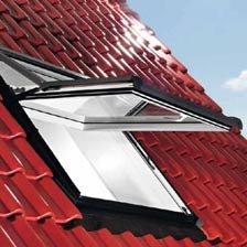 Roto Designo R7 WDF R75/_K W WD AL Hoch-Schwingfenster aus Kunststoff mit W/ärmed/ämmung und Eindeckrahmen Eindeckrahmen: EDR Rx WD 1x1 ZIE AL, 54 x 78