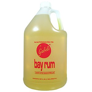GABELS Bay Rum After Shave Lotion Made with Original Bay Rum Oils from the Virgin Islands 128oz/1 (Pinaud Bay Rum)