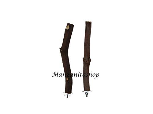Manzanitashop Large Single Perches 2-pack