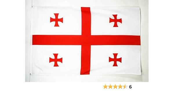 AZ FLAG Bandera de Georgia 90x60cm - Bandera Georgiana 60 x 90 cm: Amazon.es: Hogar