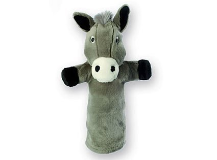 Donkey Puppet (The Puppet Company Donkey Long Sleeved Glove Puppet)