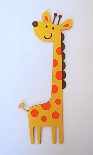 Cute Giraffe Die Cut Paper Piecing Scrapbook Embellishment