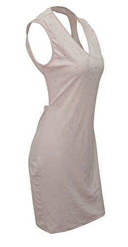 Mesdames Robes De Soirée Moulante Courte Dos Nu Vintage Chic Robes Habillées Robes Fourreau