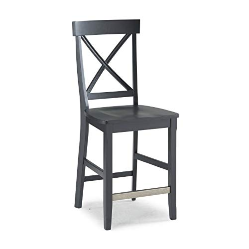 Nantucket Black Counter Stool by Home - Home Counter Stool Styles