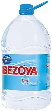 Bezoya - Agua Mineral Natural - Garrafa 5 L: Amazon.es: Alimentación y bebidas