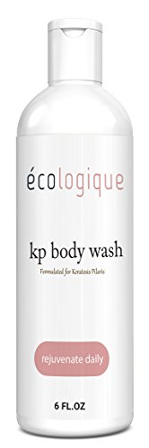 Ecologique KP Body Wash 6oz - Salicylic and Glycolic Acid Formula To Help Clear Red Bumps