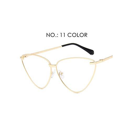 0c4693d806 Fashion Women Luxury Flat Top Cat Eye Sunglasses Elegant men Twin Beam  oversized Sun glasses UV400