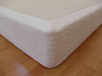 DynastyMattress 8-INCH Thick Wood Box Foundation for memory foam, latex, and air mattresses