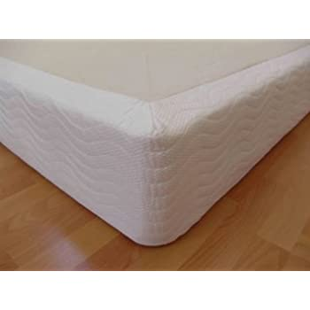 "DynastyMattress King Bed 8"" Thick Wood Box Foundation for memory foam, latex, and air mattresses"