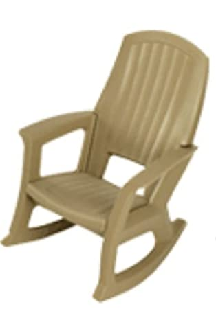 Amazon.com : Hunter Green Outdoor Rocking Chair   600 Lb. Capacity : Patio Rocking  Chairs : Garden U0026 Outdoor