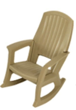 Hunter Green Outdoor Rocking Chair, 600-Lb. Capacity