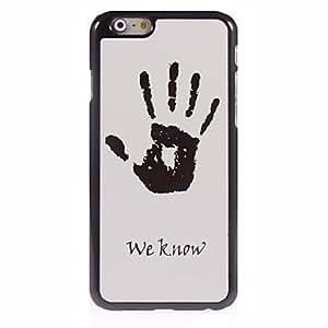 QJM We Know Design Aluminum Hard Case for iPhone 6