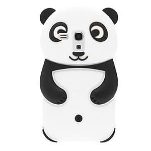 LZX Panda Design Silicone Soft Case for Samsung Galaxy S3 mini I8190