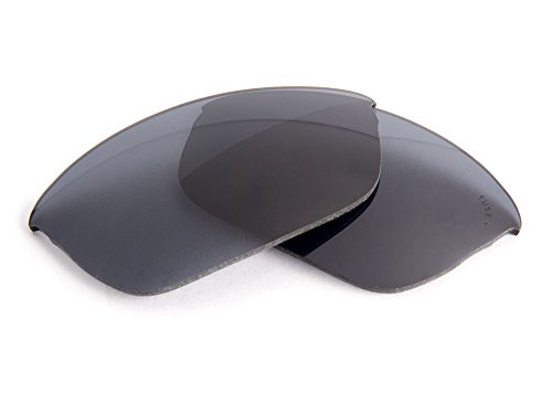 FUSE+ Grey Polarized Replacement Lenses for Oakley Flak 2.0 (Asian Fit) - Fit Flak Asian Oakley 2.0 Lenses