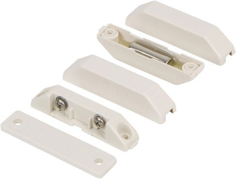 Nascom N282TXGW/ST Surface Mount Terminal Switch/Magnet Set, Low Profile, Beveled Cover, Spacers (Pack of 10) by NASCOM
