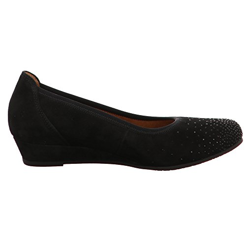 Gabor Shoes Comfort Sport, Bailarinas para Mujer, 47 EU Negro (Schwarz)