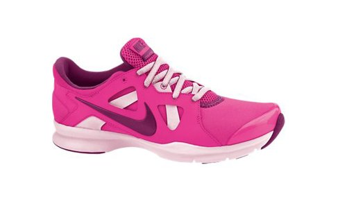 Nueva Nike En la temporada Tr3 rosa / señoras de frambuesa 9.5 Pink Foil/Arctic Pink/Raspberry Red