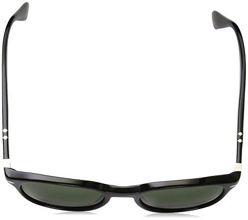 31 Schwarz Gläser Sol Gestell Unisex Adulto Persol de 95 Gafas Grün Negro PRqcx6Ow