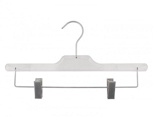 Acrylic Hangers (NAHANCO 90014RC50HU Equinox Acrylic Skirt/Pant Hanger, Home Use, 14