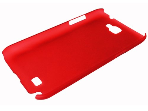 avci Base 4260344980741Frost cristal Bumper Coque rigide pour Samsung Galaxy Note 2N7100Rouge