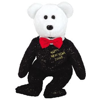 1 X TY Beanie Baby - COUNTDOWN the Bear (Internet Exclusive) (misc version)