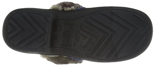 Blue Navy Flat Microsuede Isotoner Heather Brielle Women's z8Xgw08qHY
