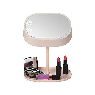 MEI Mart Lighted Makeup Vanity Mirror with Table Lamp for Bedroom Home Decor Mint by MEI