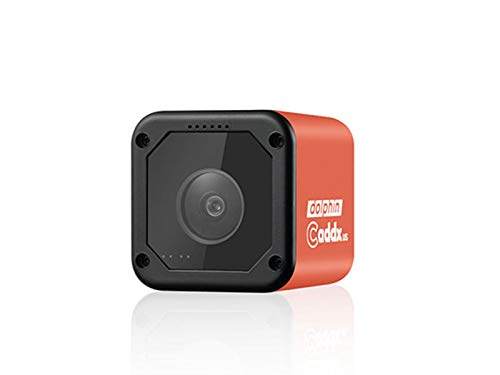 Caddx Dolphin Starlight 1080P DVR HD Recording WiFi 150 Degree Mini FPV Camera Action Sport Cam for RC Drone - Red 1080P by Caddx