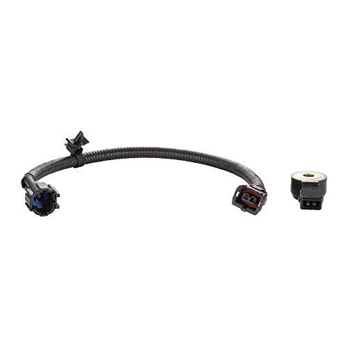 ECCPP Knock Detonation Sensor with Harness Compatible with 1995-2004 Nissan Pickup 1995-1998 Nissan 200SX 1991-1998 Nissan 240SX 1990-1996 Nissan 300ZX 1993-2001 Nissan Altima - Sensor Nissan Sentra Knock