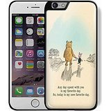 Winnie the Pooh and Piglet Quote for Iphone and Samsung Galaxy (iPhone 6 plus black)
