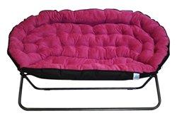Amazon Com Papasan Dorm Sofa Pink Kitchen Amp Dining