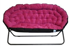 Papasan Dorm Sofa – Pink Basic Facts