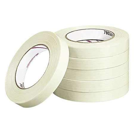 Filament Tape, 0.75'' x 60 yd, (Pack of 3)