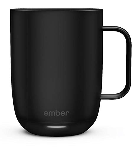 (Ember Temperature Control Mug, Black 14 oz)