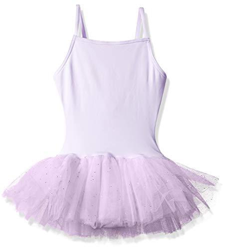 Capezio Girls' Little Tutu Dress, Lavender, ()