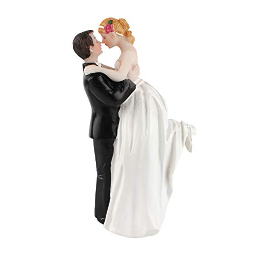 ACME Hot Wedding Cake Topper True Romance Couple Figurine