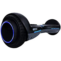 GOTRAX ION LED Hoverboard - UL Certified Hover Board w/Self Balancing Mode (Black)