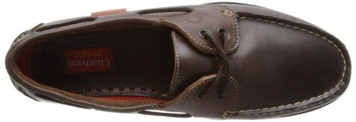 Chatham Marine Commodore - Náuticos de cuero hombre Marrón - Dark Brown