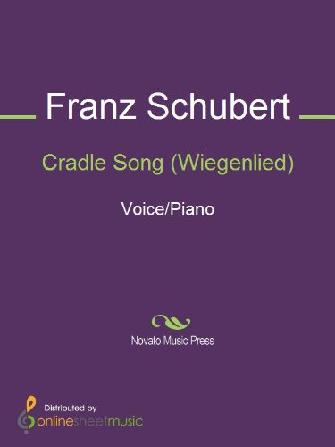 Cradle Song (Wiegenlied) - Score