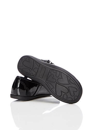 RED WAGON Merceditas Back To School Para Niñas Negro (Black Patent)