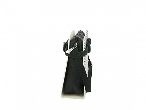 Negro blanco Para Espuma Mujer Bolso Cruzados Ioamo De Negro SRn8zqT0
