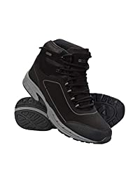 Mountain Warehouse Ramble Mens Softshell Boots -Waterproof Upper Shoe