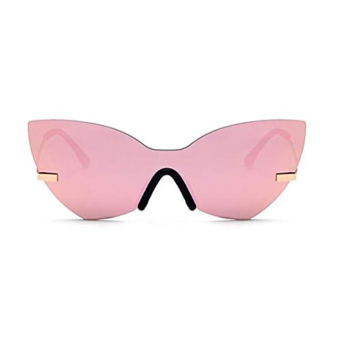 Personalità Donne Protezione Vintage Di Stile Sole Lindanig Per color Da Farfalla Pink Uv Occhiali Forma A Le