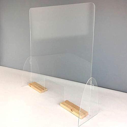 Mampara mostrador. Pantalla de protección. Separador transparente ...